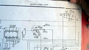 Sharp 21v L70m Diagram