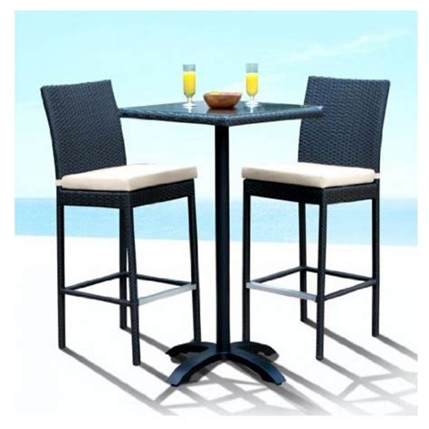 bistro table and 4 chairs furniture piece bar stools glenn bar stool white chrome