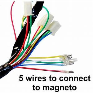 One Set Electric Atv Cdi Wire Harness Stator Wiring Kit