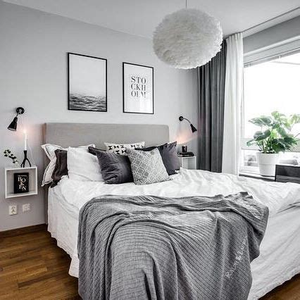 Bedroom Ideas Black White And Grey by Gray And White Bedroom Home Decor With Wall Tips