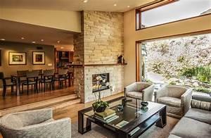idee deco salon salle a manger moderne deco maison moderne With idee amenagement salon salle a manger