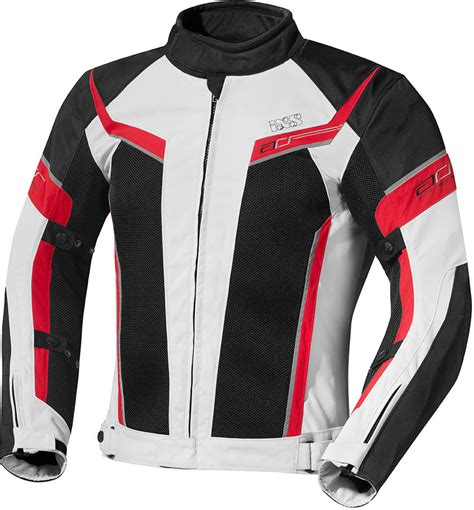 motorcycle jacket store ixs ashton grey black red motorcycle clothing textile