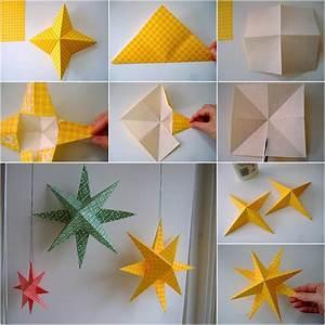 Papiersterne Basteln Anleitung : weihnachtssterne basteln kreatives deko f r das sch nste ~ Lizthompson.info Haus und Dekorationen