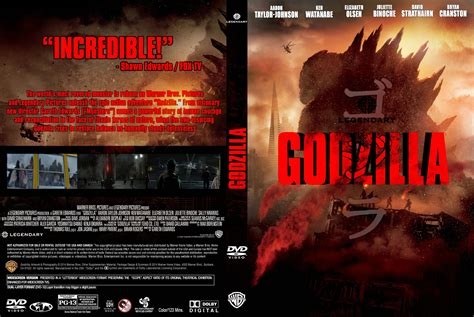 Fan-made Godzilla 2014 Dvd Cover *updated Cover