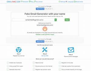 20 Best Fake Em... Fake Email Generator