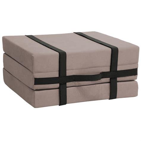 lit d appoint valisette convertible lit 1 personne pouf coloris sarazzin tous les produits