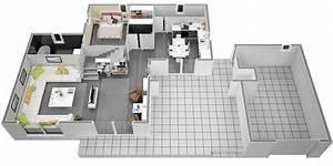 Sweet Home 3d Sans Telechargement : plan de maison en v gratuit 5 plan maison moderne 120m2 ~ Premium-room.com Idées de Décoration