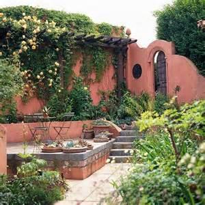 Garden Adobe Wall