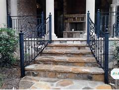 Outdoor Metal Handrails For Stairs by Decorative Outdoor Handrails To Add The Beauty Of The Stairs Home Decor Help