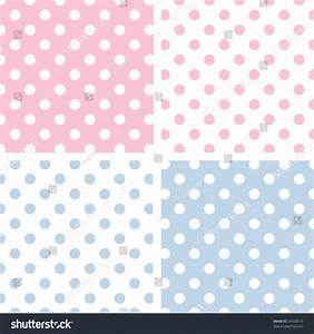 Seamless Pastel Pattern Tiles Large White Stock ...
