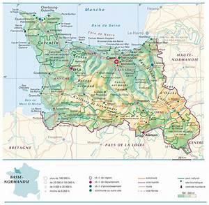 Encheres Basse Normandie : carte de la basse normandie plusieurs cartes de la r gion ~ Gottalentnigeria.com Avis de Voitures