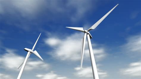 Windmill Wallpaper Animated - wind turbines moving stock footage 509551