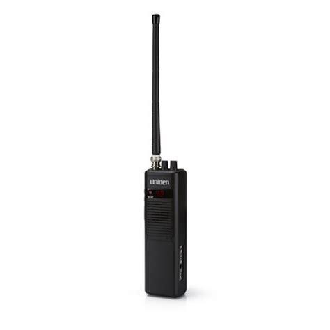 uniden pro401hh handheld cb radio 40 channel 4 watts range black new ebay