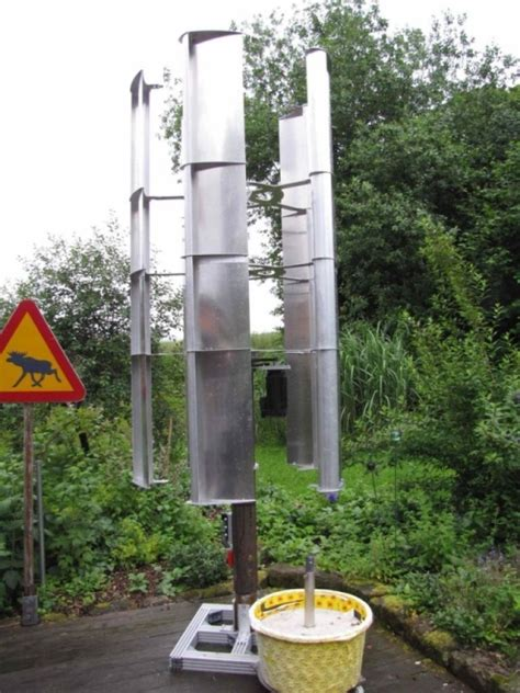 Schiebengenerator Für Vertikales Windrad • Www