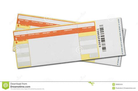 Concert Ticket Template Blank Concert Ticket Template Printable Oninstall