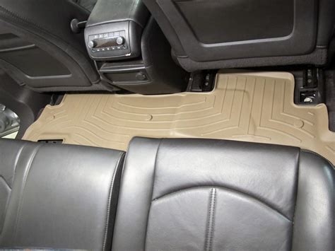 weathertech floor mats buick enclave 2009 buick enclave floor mats weathertech