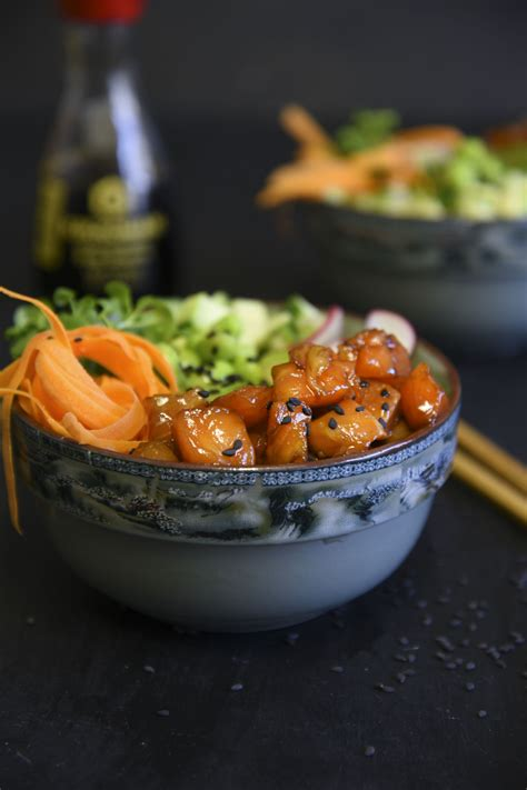 poke bowls healthy  delicious  easy cooking