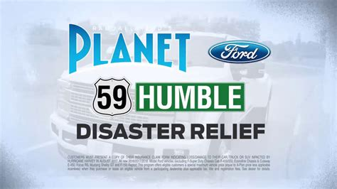 Hurricane Harvey Disaster Relief from Planet Ford 59