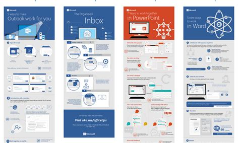 How To Powerpoint Templates From Microsoft by New Infographic Templates For Word Outlook And