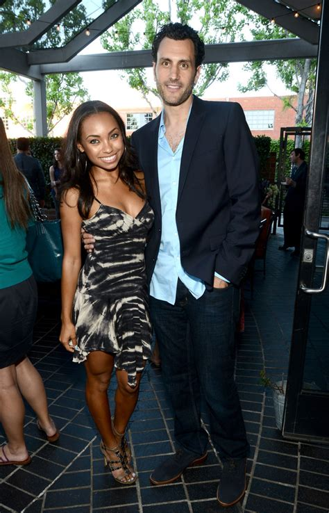 hit the floor quiz logan browning and james larosa photos photos hit the floor screening in santa monica zimbio