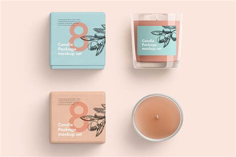 We can say this round up of 2000+ free mockup templates psd. Download This Free Glass Candle Mockup In PSD - Designhooks