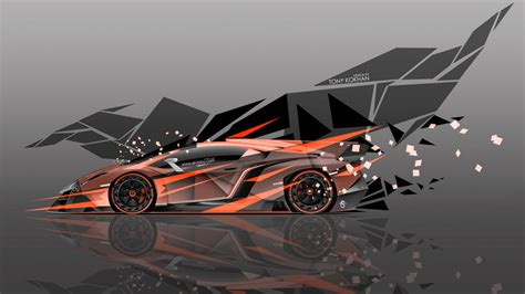 Lamborghini has unveiled what may be its most extreme car ever at the 2013 geneva motor show. Lamborghini-Veneno-Side-Super-Abstract-Transformer by Jeonkd on DeviantArt