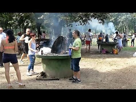 Barbecue At Ada Ciganlija, Belgrade Youtube