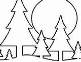 Coloring Pine Trees Pages Tree Printable Freeprintablecoloringpages Plants Templates Flowers Drawing sketch template