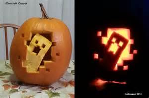 Minecraft Creeper Pumpkin Stencils by 2013 Pumpkin Carving Minecraft Creeper By Bluedragon82