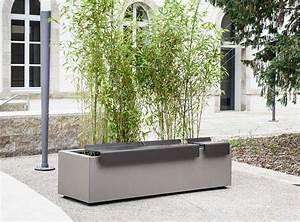Jardinière En Hauteur : square mobilier urbain jardini re simple atech ~ Nature-et-papiers.com Idées de Décoration