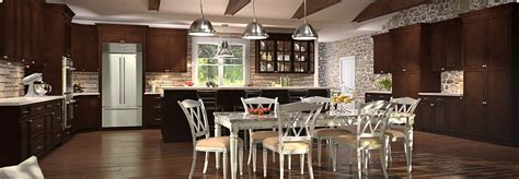 Tsg Cabinetry Signature Pearl by Tsg Forevermark Signature Brownstone Kitchen Cabinet Rta