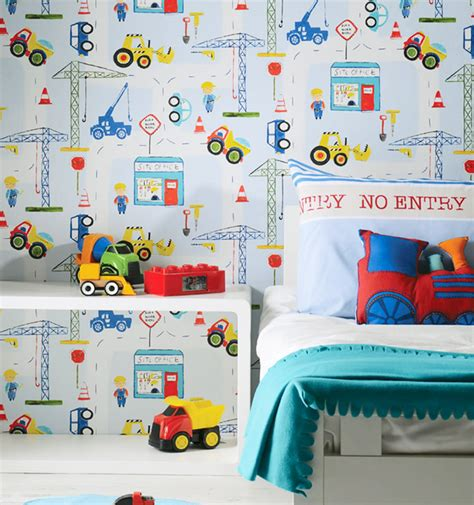 13 Modern Wallpapers For Your Child's Room