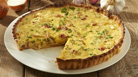 fourchette cuisine quiche lorraine recette knorr