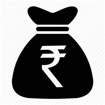 Rupee Money Icon Indian Bag Clipart Coin