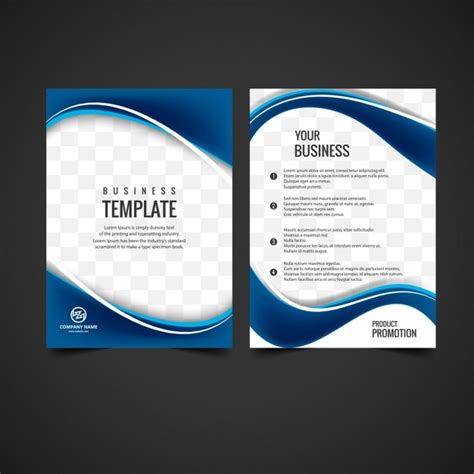 Shiny Brochure Design Vector