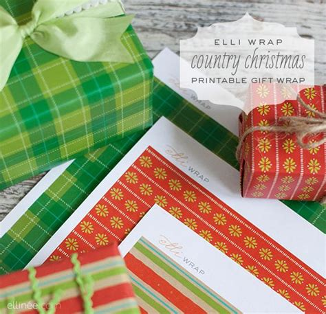 printable christmas wrapping paper gifts pinterest