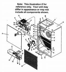 Icp Model Fwm1805a1 Air Handler  Indoor Blower U0026evap