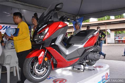 Modification Sym Cruisym 300i by 2017 Sym Cruisym 300i Shown At Gempaq Penang 2 0