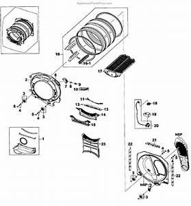 Parts For Samsung Dv520aep  Xaa