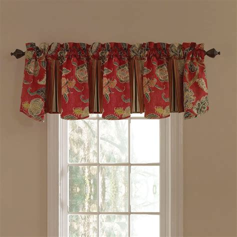Waverly Eastern Myth Radish Window Valance   Valances at