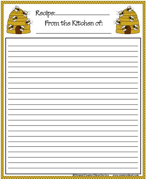 s day recipe card template freebies august 2012
