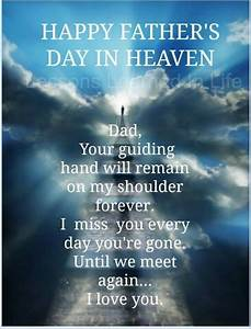 Happy Father's Day In Heaven quotes quote fathers day dad ...