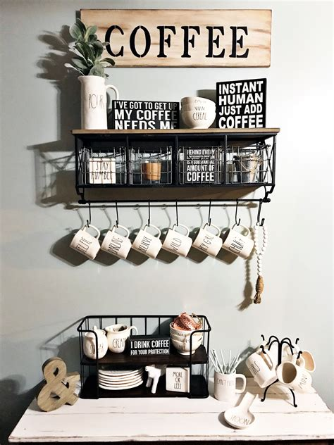 Once the spot was settled, then it was time to brainstorm design ideas. Here are 30 brilliant coffee station ideas for creating a little coffee corner that will help ...