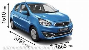 Largeur Moyenne Voiture : dimensions des voitures mitsubishi motors avec longueur largeur et hauteur ~ Medecine-chirurgie-esthetiques.com Avis de Voitures