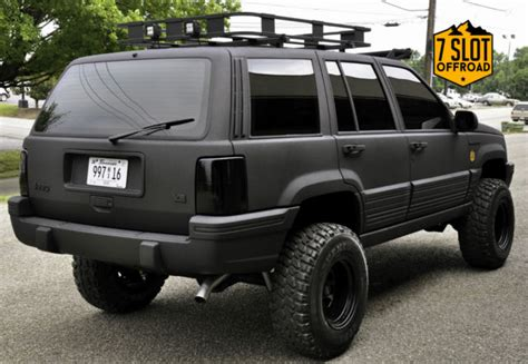 built jeep cherokee jeep grand cherokee suv 1993 black for sale