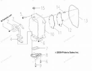 Polaris Side By Side 2011 Oem Parts Diagram For Engine  Cylinder Head Cover