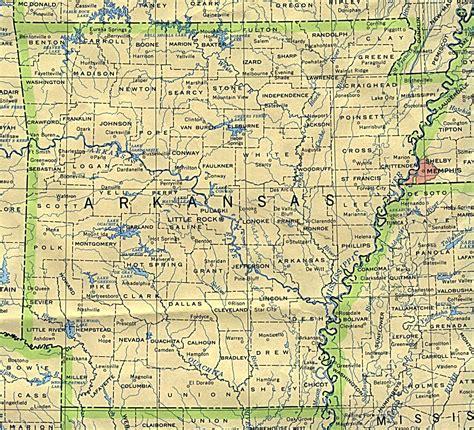 map  arkansas state arkansas state map vidianicom