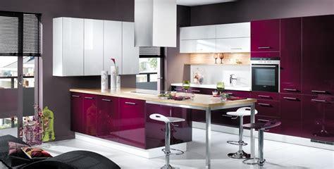 cuisine pourpre cuisine violet et blanc photo 4 25 de jolies teintes