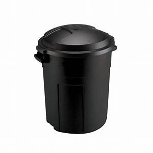 Rubbermaid Roughneck 20 Gal. Black Round Trash Can with ...