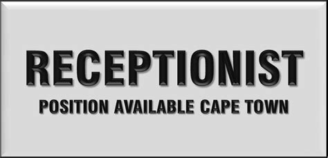 front desk receptionist salary in south africa receptionists in south africa